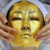 Anti-wrinkling and anti-aging 24K mask  gold leaf facial mask gold for beauty salon