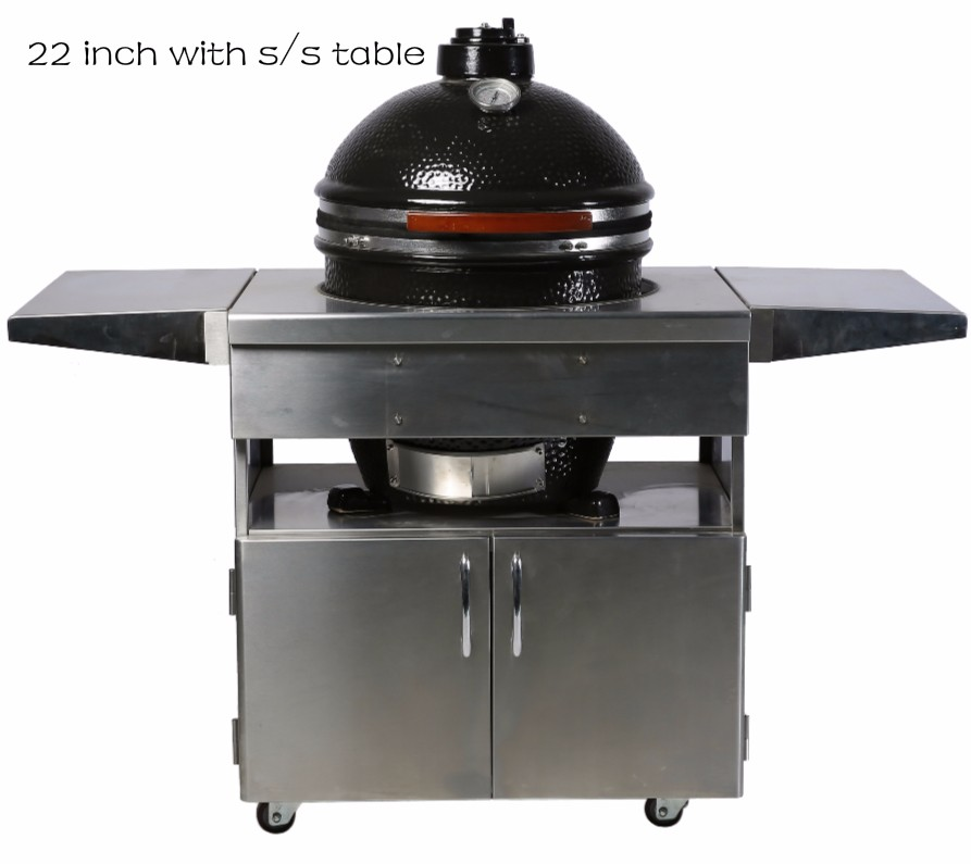 2018 MCD hot selling draagbare keramische kamado tabletop bbq grill