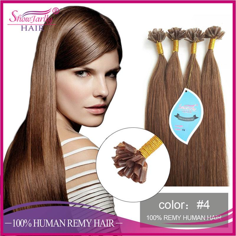 Best selling russian remy u tip hair free sample nail flat tip hair extension curly wave style available
