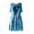 NT1801106Women's Contemporary Dancing Costume Cross Front Sleeveless Lyrical Dress