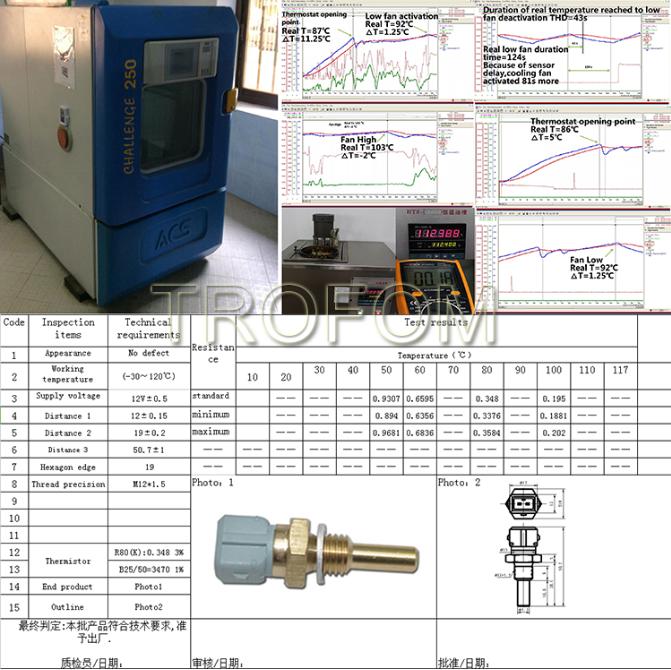 Coolant Water Temperature Sensor For Honda Accord Civic Concerto ...