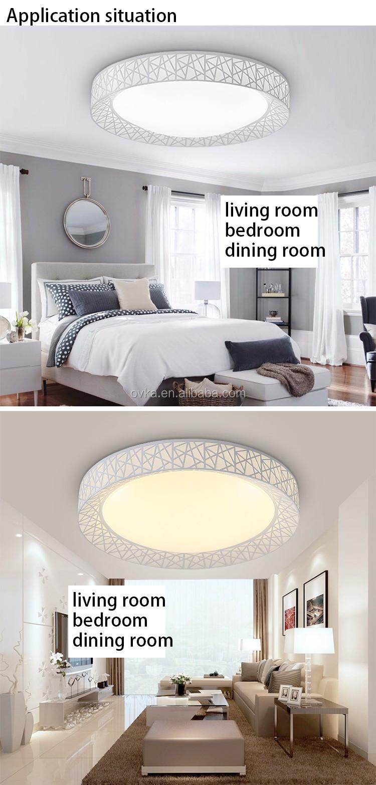 Moderne Led Dimbare Plafond Verlichting Nest Dia45-80cm Keuken ...