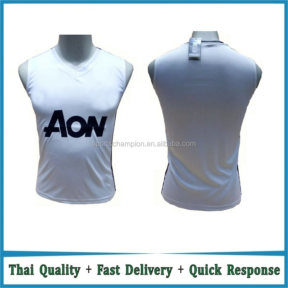 2017/2018 best quality jersey 2017 soccer training vest football training vest