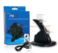 For PS4 Vertical Stand with 2 Controller Charging Dock For PlayStation 4