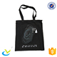 Promotion cotton shopping carrier bag black manufacture