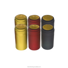 Hot Sale Pvc Easy To Open Bottle Shrink Cap Seal