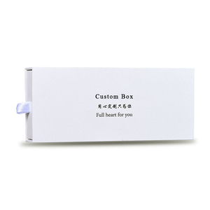 Custom Logo Printed White Watch Packaging Boxes Manufacture OEM Paper Gift Box