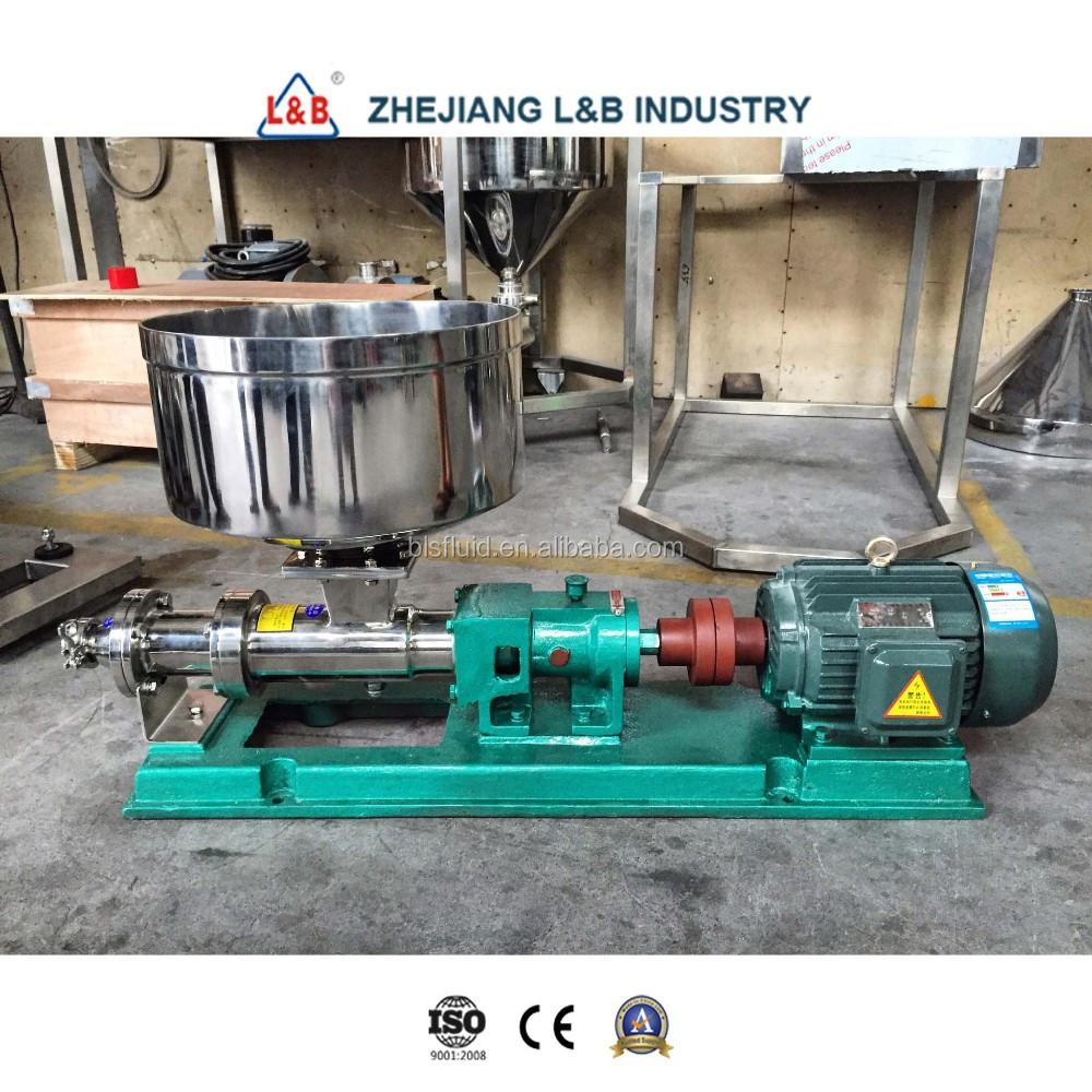 High Viscosity Stainless Steel Single Screw Transfer Pump