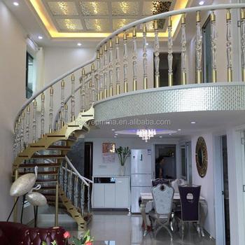 Modern Crystal Stair Railings Decorative Stair Railings Photos Railings For  Acrylic Spiral Staircase