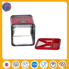 Factory Professional rectangle tin box containers box packaging pen / pencil tin box