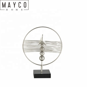 Mayco Stylish And Innovative Arrow Design Home Interior Category Craft Contemporary Metal Table Top Decor