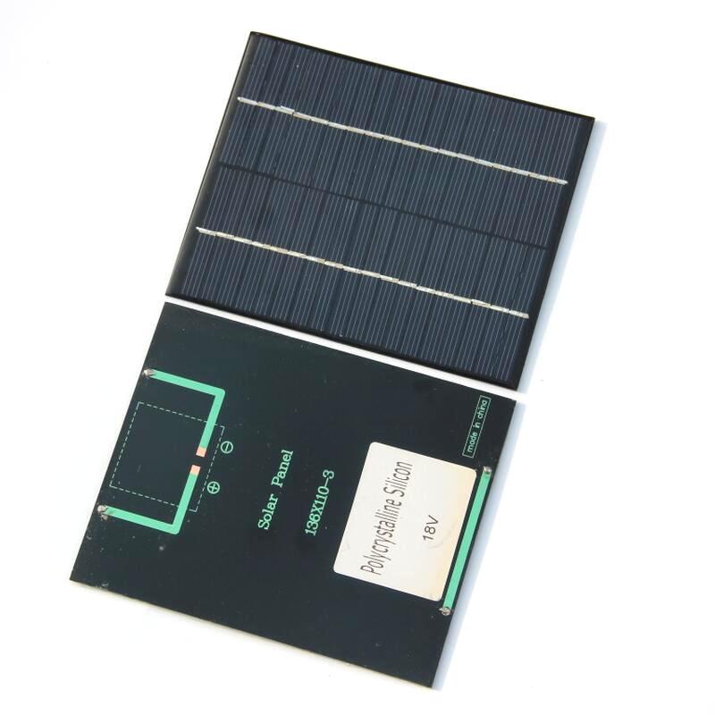 3 watts policristalino silício células solares 12v