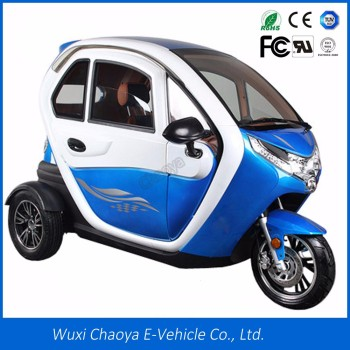 Hot S Eec Enclosed 3 Wheel Electric Motorcycle For