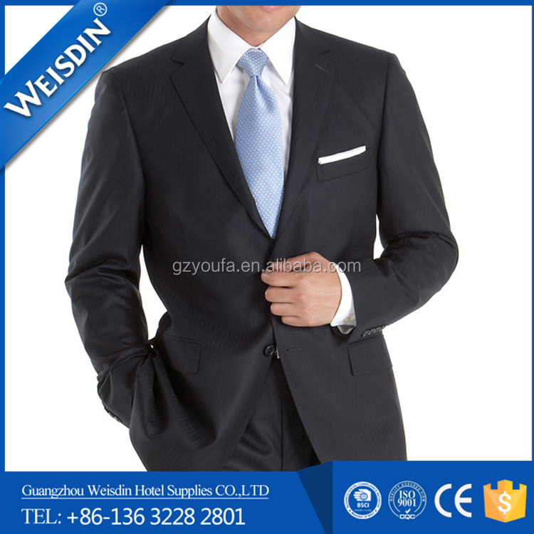 anti-shrink china wholesale polyester/cotton used suits for men