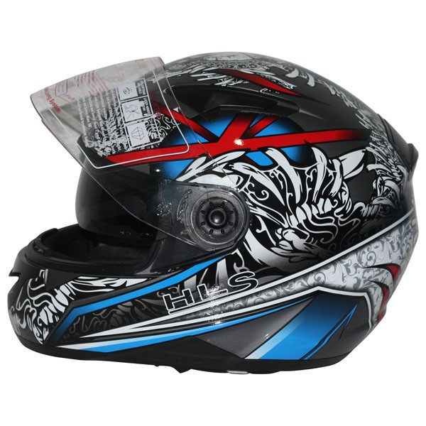 Full face helmet with bluetooth helmet--ECE/DOT Approved