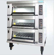 3 deck bakery oven,portable electric oven