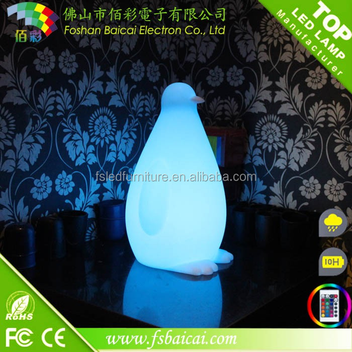Fashionable design acrylic Led floor lamp with 16 color changing for room decoration