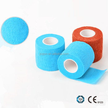 Professional standard Elastic Non-Woven Cohesive Sports Tape athletic kinesiology tape