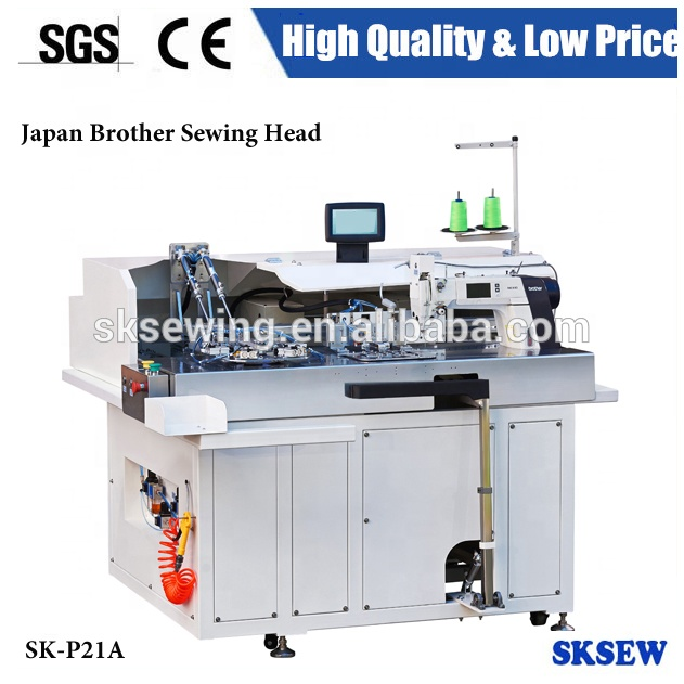 Automatic setter pocket programmable pattern sewing machine for garment