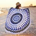 Sexy Beach Towel Printed Beach Towels Personalized Sexy Beach Towel Printed Custom Made Microfiber Round Beach Towel With Tassel