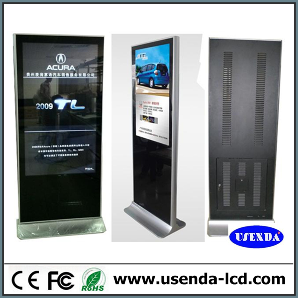 65inch Six Vedio Media Ad Player/advertising Display/digital ...