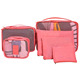 Multifunction Portable Travel Shirt & Tie Organizer Bag / Travel Storage Clothes bag