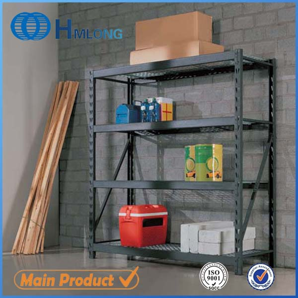 Warehouse metal wire mesh boltless industrial racks