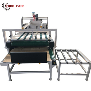 Semi Automatic Paper Box Folder Gluer Machine/Folding Gluing Machine