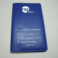 PU leather bulk business card holder book with customized logo