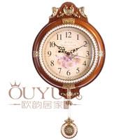Wood Antique clock home goods wall clocks