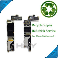 For iphone 5s motherboard logic board recycle recycling repair fix service,motherboard for iphone