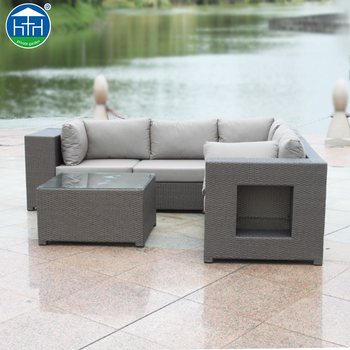 Dw Sf100 Exclusive Composite Rattan Sofa Garden Furniture Used