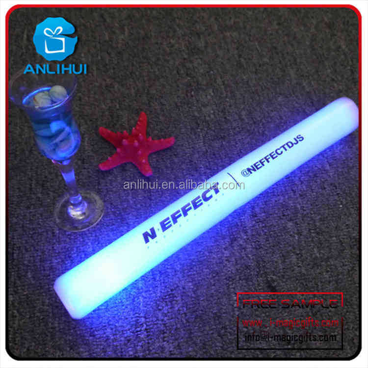 Party/Concert led accessories led flashing foam light wand