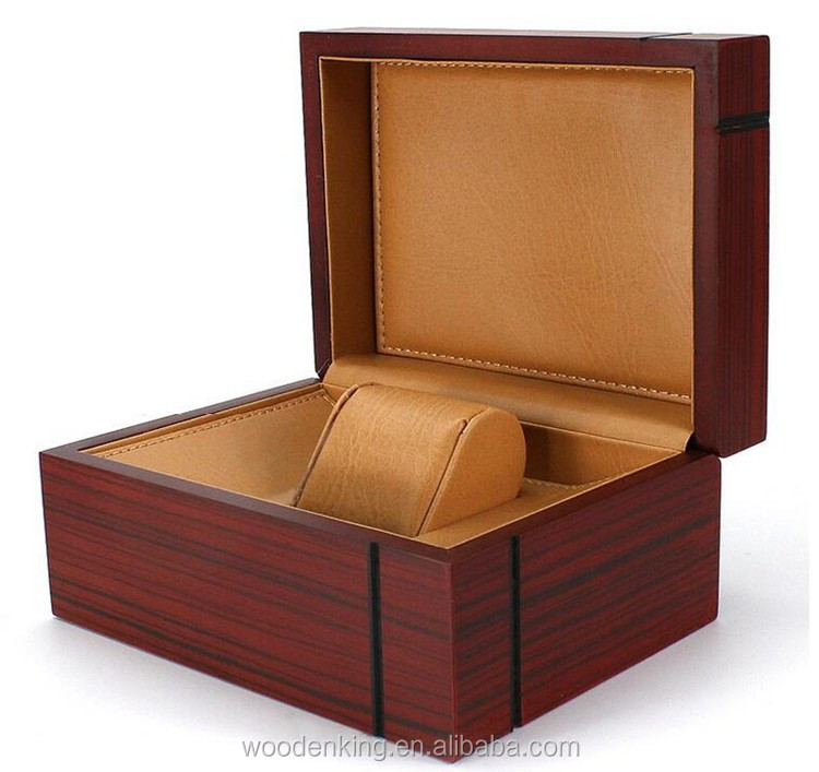 New Products 2017 Luxury Watch Gift Wooden Box Contracted Fashion Custom Logo Watch Box Wood