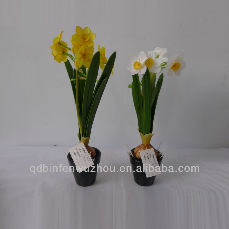 2013 New Species Artificial Narcissus Flowers