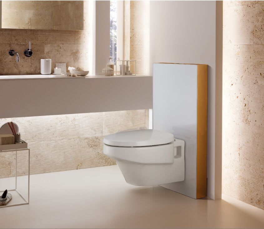 Geberit alpha duofix in wall cistern watermark concealed for Flush with the wall