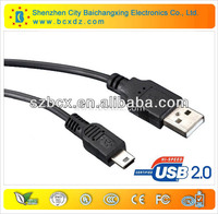 high speed!!!usb AM TO mini 5p and mini hdmi to rca cable for wholesale