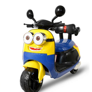 Licensed kid motorcycle minion electric children motorcycle for big kids