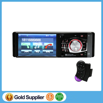 "In-Dash Car Stereo CD DVD Player Radio Single 1 DIN 4.1"" HD Touch Screen Bluetooth/Reversing Camera Car DVDinput/A2DP/USB/SD/RDS"