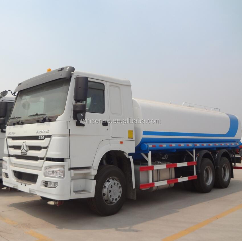 Factory Price Sinotruck 20000 Liter Water Tank Truck - Buy