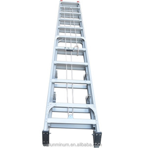 Wholesale 4m 5m 6m 7m 8m 9m 10m 11m cheap extension ladder of aluminum