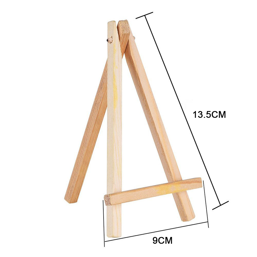 Wooden Art Display Drawing Artist Parts Stand Painting