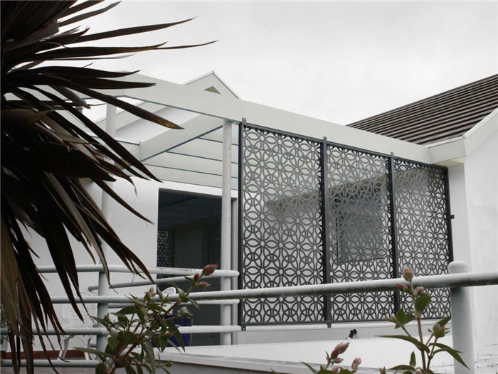 Building Perforated Metal Sheet Balcony