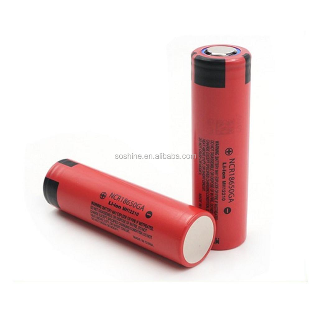 Original Sanyo Ncr18650ga 3500mah 18650 High Capacity Batteries Protection Circuit For Led Torch Battery Cell 37v Li Ion
