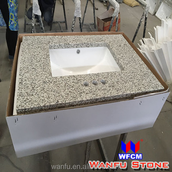 Pre Cut Granite Wash Basin Counter Tops