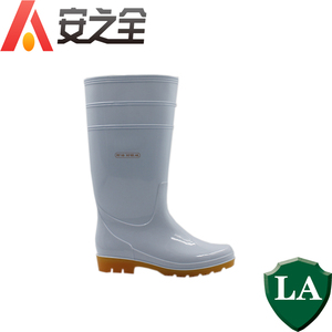 White High Thigh waterproof Protective non leather work neoprene long PVC rain safety Boots