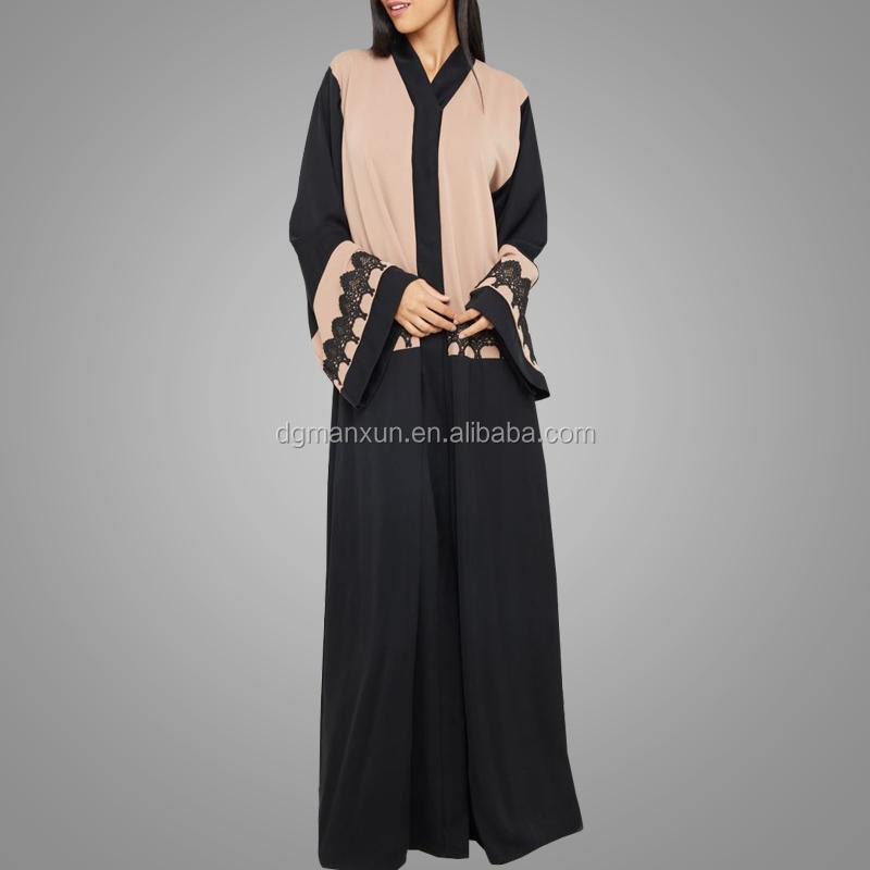 7a579ac1231 New Dubai Abaya Designs Moroccan Abaya Wholesale Customized Front Open  Islamic Clothing Modest Cardigan Dress