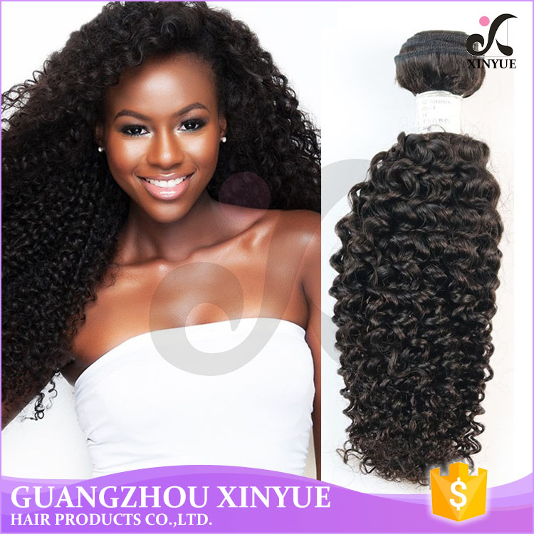 Mongolian Curly Hair Weave Kinky Curly East European Natural Virgin