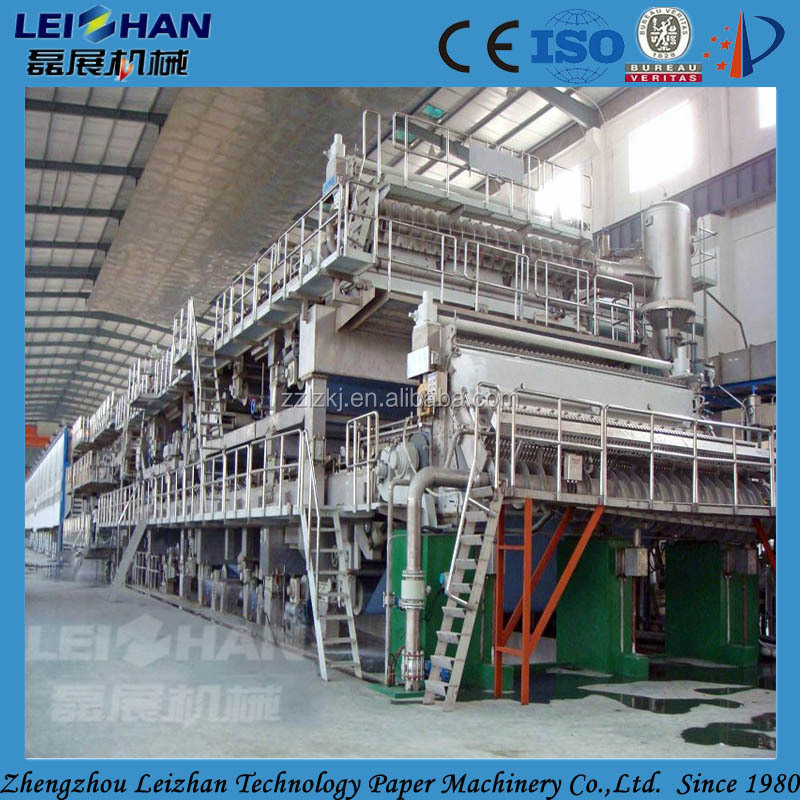 Waste Paper/ Wood Pulp Material Writing Paper Manufacturing ...