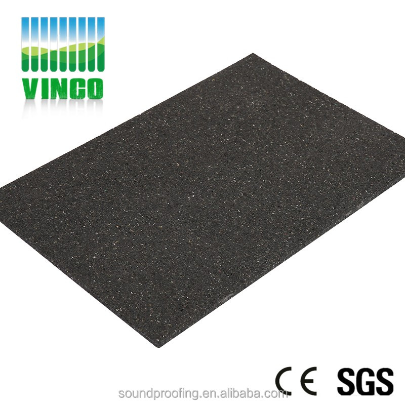 gym silicone rubber thermal insulation pad playground tile rubber shock damping mat shock absorption material